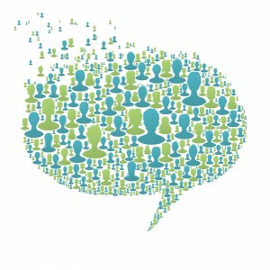 3837643-speech-bubble-composed-from-many-people-silhouettes-social-network-concept-vector-eps8